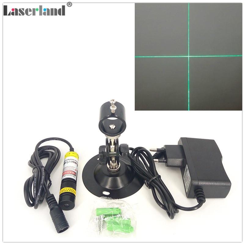 1668 510nm 515nm 520nm 10mW 30mW 80mW Cross Hair Green Laser Diode Module Osram LD in