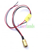 8*13mm 405nm 5mW-10mW Dot Focusable Laser Module no Driver