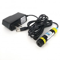 16*68mm 830nm 300mW Infrared Cross Focusable Laser Module