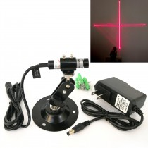 12*55mm 650nm 5mW 10mW 50mW Red Cross Laser Module Focusable