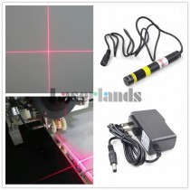 16120 24VDC 650nm 100mW Cross Hair Red Laser Module