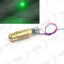 13*34mm 30mW 532nm Dot Green Laser Module 3VDC