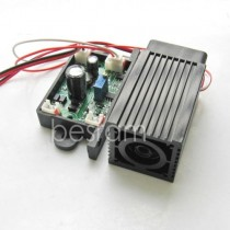 3258 520nm 50mW Green Dot Laser Module TTL 12V