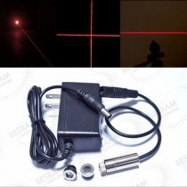 12*35mm 30mW 3in1 650nm Red DOT/LINE/CROSS Focusable Laser Module w/ Adapter