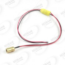 8*13mm 10mW 780nm Dot Focusable Laser Module 3-5vdc