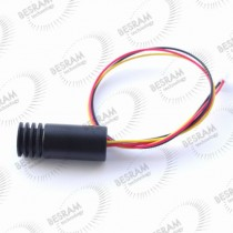18*45mm 808nm 200mW IR DOT Focusable Laser Module TTL 100khz