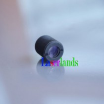 Coated Glass Lens Three Layers Glass Focal Lens for Laser Diode with Metal M9/P0.5 Frame