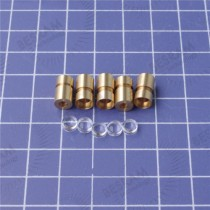 8*13mm Housing for 5.6mm TO18 Laser Diode with  Focusable Plastic lens