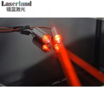 22*70 638nm 50mw Fat Beam Laser Module 5VDC for Escape Room, building locating, ktv, party, lighting show