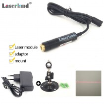 12*55mm 650nm 5mW 10mW 50mW Red Line Focusable Laser Module DC5V Locater