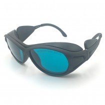 EP-2-2 UV Red Laser Protective Safety Glasses Goggles Eyewear 190nm-380nm & 600nm-760nm OD4+ CE