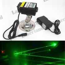3354 532nm 80mW-100mW Green Dot Laser Module with Fan Adapter 12VDC