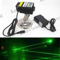 3355 532nm 80mW-100mW Green Dot Laser Module with Fan Adapter 12VDC