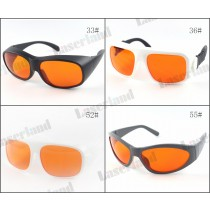 LP-GHP VU 405nm 450nm 532nm Blue Green Laser Protective Goggles Safety Glasses T=50% OD 6+
