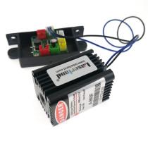 3050-488D-60-12VDC Laserland 488nm Cyan Semiconductor Laser Module 60mW Laser Head Lighting Effect 487nm
