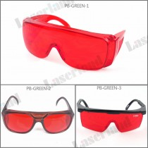 PB-BG Blue and Green Laser Safety Glasses Protection Goggles Eyewear OD 4+