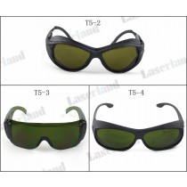 T-5 850nm-980nm-1064nm OD4+ IR Infrared Laser Protective Goggles Safety Glasses CE