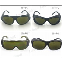 EP-5 CE Certificate IPL UV IR 200-450nm, 800-2000nm Laser Safety Goggles IPL Eye Protection Glasses O.D 4