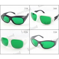 LP-RTD2 600nm-1100nm OD2+ 808nm 980nm OD4+Laser Protective Goggles Safety Glasses CE