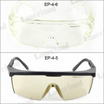 EP-4 CE Certificated OD5 10600nm CO2 Laser Safety Glasses Safety Goggles OD5+ Protective Eyewear 10.6um Absorption