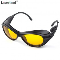 T-UB 190nm-490nm OD4 UV Blue Laser Protective Goggles Safety Glasses CE