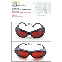 T-1 OD4+ 190nm-540nm Laser Safety Glasses Protective Goggles