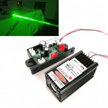 3050 532nm 50mW Fat Beam Green Dot Laser Module TTL 12V light show bird caring stage lighting ktv show laser curtain