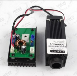 40100 3.5W 450nm 445nm Blue Dot Focusable Laser Module with TTL for Engraving Cutting