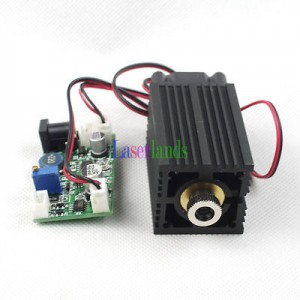 3350 445nm3.5W Blue Dot/Line/Cross Focusable Laser Module
